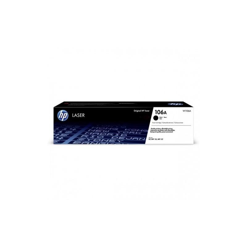 HP toonerikassett black (W1106A, 106A)