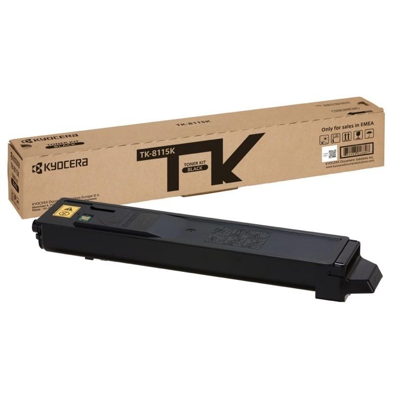 Kyocera toonerikassett black (1T02P30NL0, TK8115K)