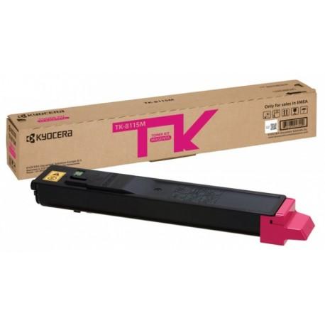 Kyocera toonerikassett magenta (1T02P3BNL0, TK8115M)