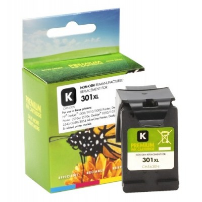 Analoogtooner Static Control Hewlett-Packard 301 XL Bk (CH563EE)