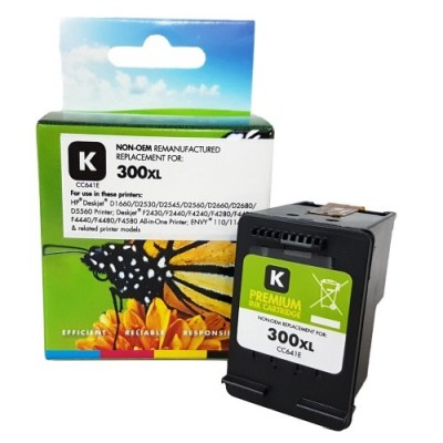Analoogtooner Static Control Hewlett-Packard 300 XL must (CC641EE)