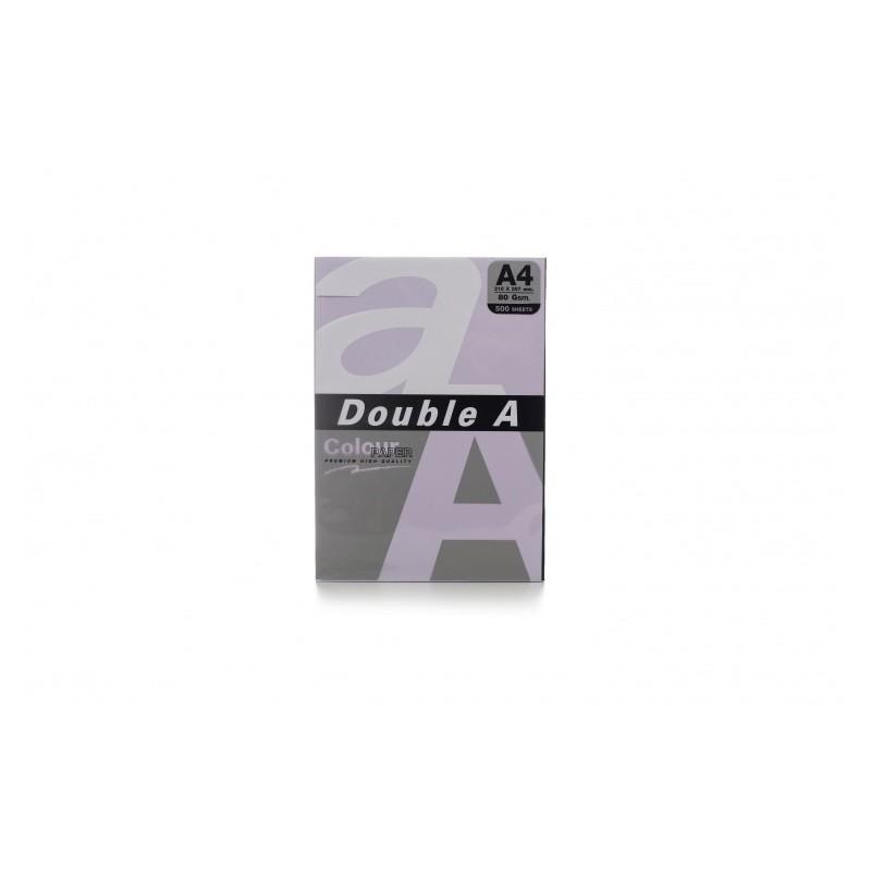 Värvilised paberid Double A, 80g, A4, 500 lehte, Levender