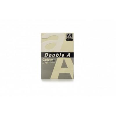 Värvilised paberid Double A, 80g, A4, 500 lehte, Ivory