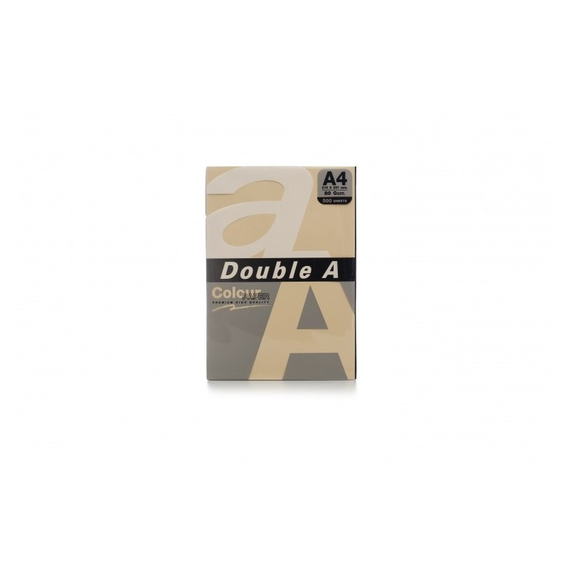 Värvilised paberid Double A, 80g, A4, 500 lehte, Old Rose