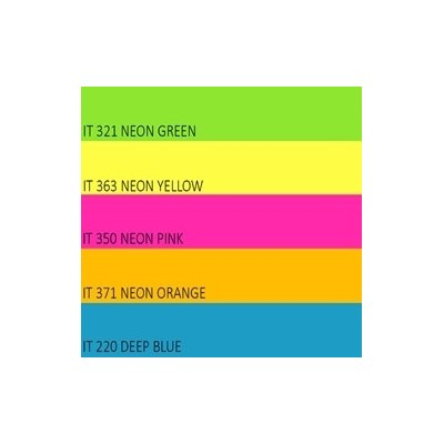 Color Neon paper Double A, 75g, A4, 100 lehte, Rainbow 4 Neon Green, Neon Yellow, Neon Orange, Neon