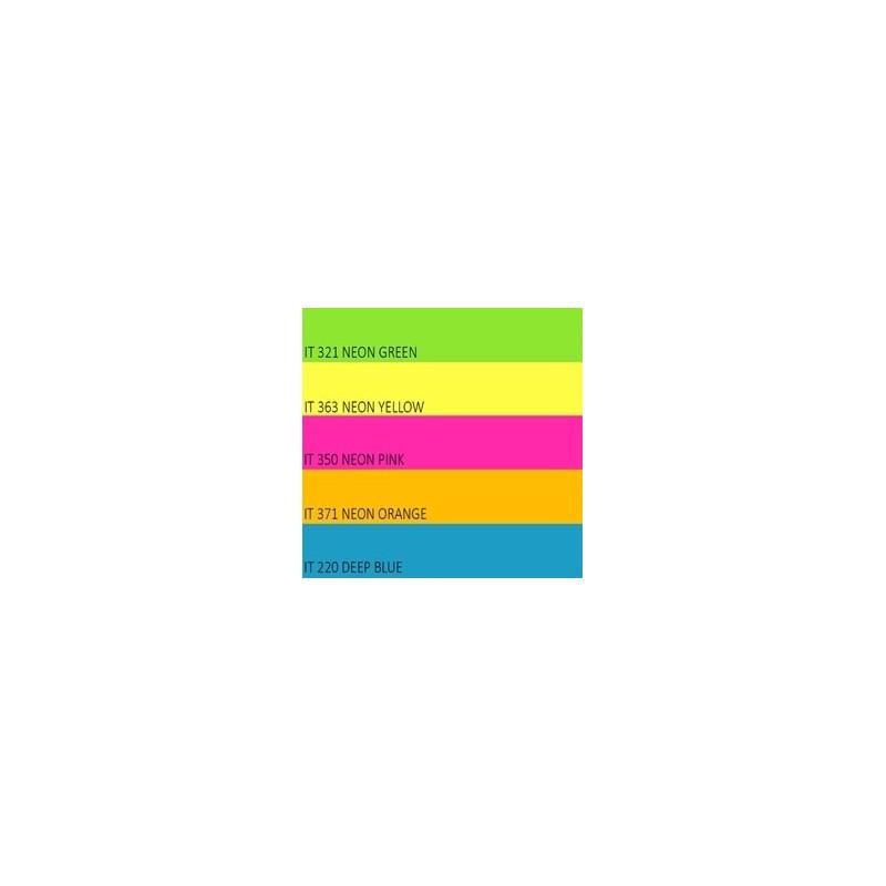 Color Neon paper Double A, 75g, A4, 500 lehte, Rainbow 4 Neon Green, Neon Yellow, Neon Orange, Neon