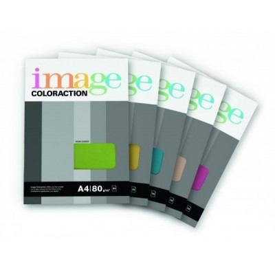 Värvilised paberid Image Coloraction 22 A4, 80g, Dark Pink (50)  0702-209