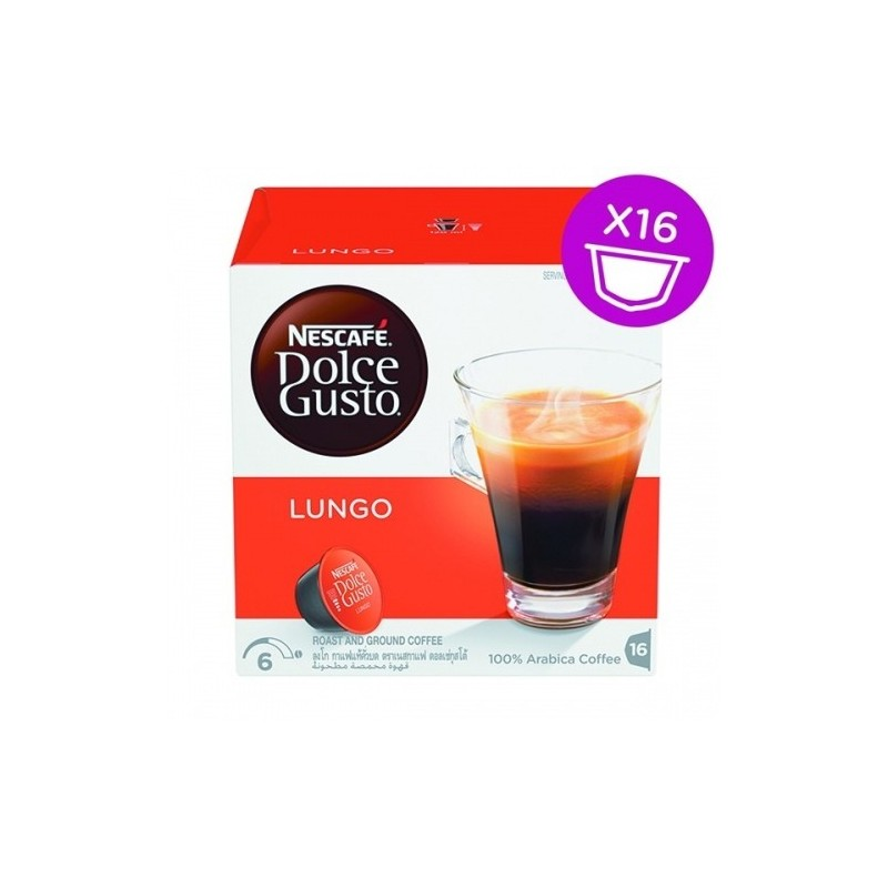 NESCAFE  DOLCE GUSTO Lungo 16 Cap 1psc.