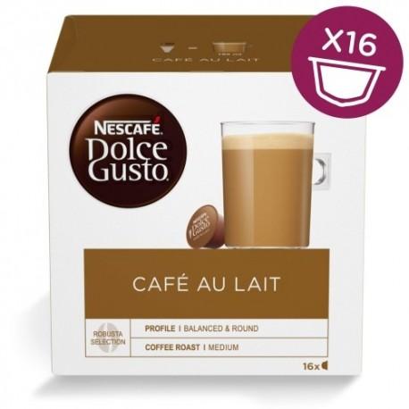 NESCAFE Dolce Gusto Cafe Au Lait 16 Kapslit