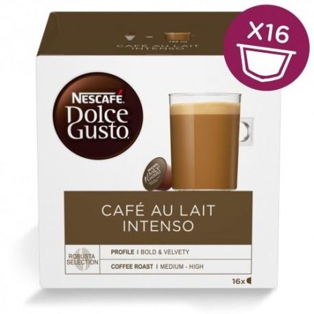 NESCAFE Dolce Gusto Café Au Lait Intenso 16 Kapslit